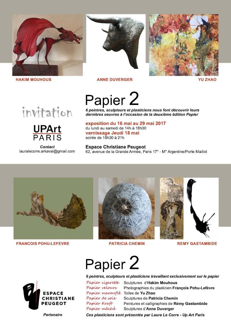 Exposition Papier 2 à Espace Christiane Peugeot 2017